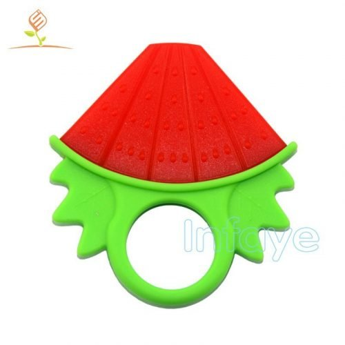 Watermelon baby fruit teether