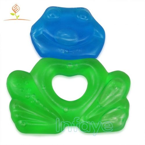 soft chew toys for babies, Frog water filled teething toys